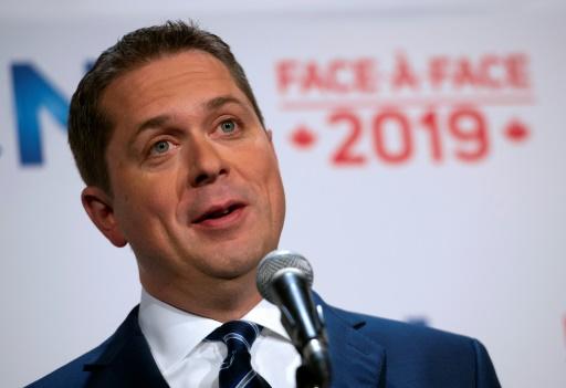Canada: le conservateur Andrew Scheer, principal rival et antithèse de Trudeau