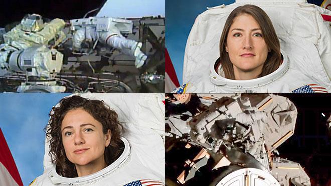 Il aura fallu attendre plus de 60 ans pour que 2 femmes mènent ensemble une sortie dans l'espace
