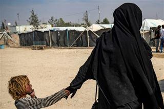 Dans le camp d'Al-Hol en Syrie, la crainte d'une Française face à l'offensive turque