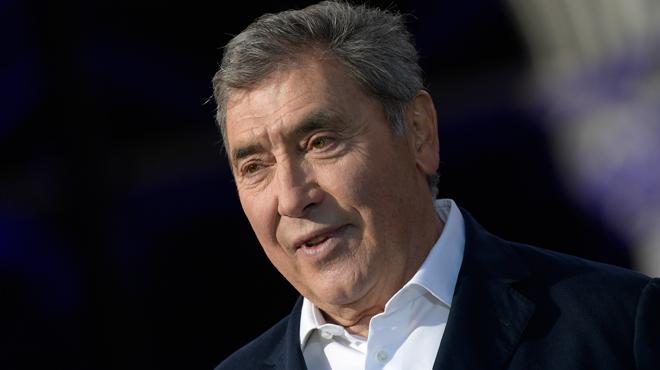 Eddy Merckx a quitté l'hôpital après sa lourde chute à vélo