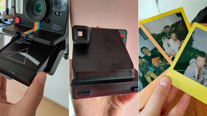 Les tests de Mathieu: le Polaroid OneStep+ mise tout sur le