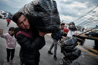 Migrants- les mineurs non accompagnés abandonnés à leur sort en Grèce
