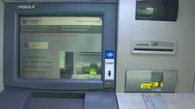 Un distributeur de billets attaqué à l'explosif à Arlon