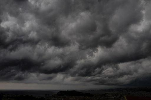 Un temps gris et pluvieux