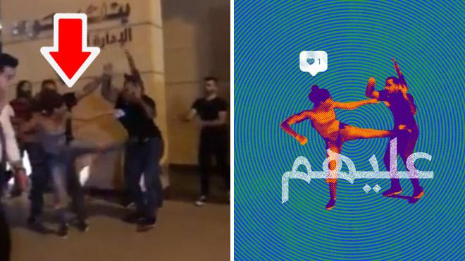 En un coup de pied, une Libanaise devient le symbole des manifestations anti-corruption (vidéo)