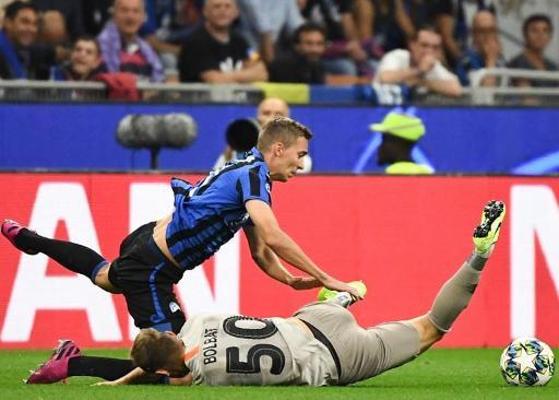 L'Atalanta de Castagne remontée après avoir mené 0-3