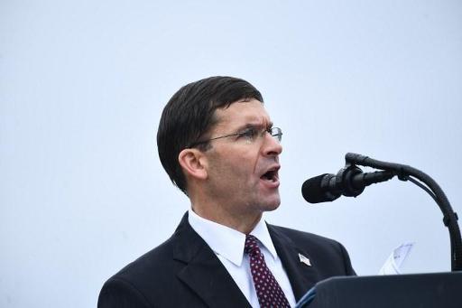 Le secrétaire américain à la Défense Mark Esper en visite surprise à Kaboul