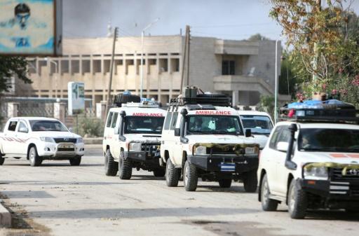 Attaque turque en Syrie: comme prévu dans l'accord de cessez-le-feu, les combattants kurdes quittent une ville frontalière