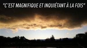 """""""Mais que le ciel est étrange ce matin"""": Brigitte photographie un stratus au meilleur moment du jour à Jambes (photos)"""