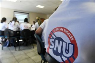 Service national universel- autour de 30.000 jeunes l'année prochaine