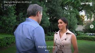 C'est DUR- Meghan Markle se livre sur la pression subie ces derniers mois (vidéo)