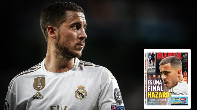 La presse madrilène met la pression sur Eden Hazard avant le match face au Galatasaray: