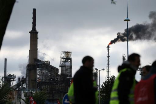 Raffinerie normande ExxonMobil: flamme visible à 40 km mais