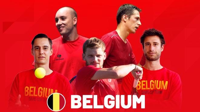 La Belgique dévoile son équipe pour le tour final de la Coupe Davis (photo)