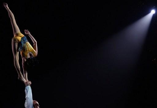 Le Cirque du Soleil revient à Bruxelles avec son spectacle acrobatique