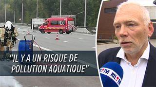 Le ring de Bruxelles fermé à Wauthier-Braine- des produits potentiellement explosifs se sont répandus 2