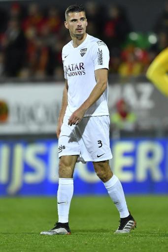 Jupiler Pro League: Menno Koch (Eupen) risque trois journées de suspension