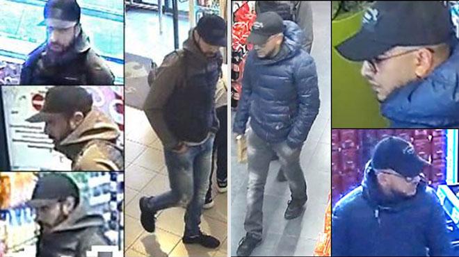 Vol à main armée au Carrefour Express de Molenbeek: avez-vous vu ces deux hommes?