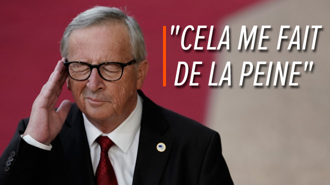 Le président de la Commission européenne déplore