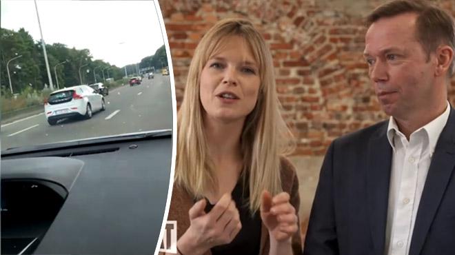 Non, Benoît Godart n'était pas au volant de la voiture en infraction sur la E411 (vidéo)