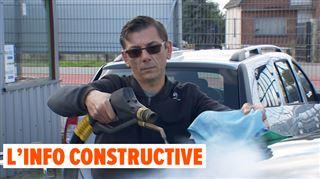 Frédéric a OSÉ inventer son propre job VERT- l'ancien plafonneur a lancé sa société de car wash écologique (vidéo)