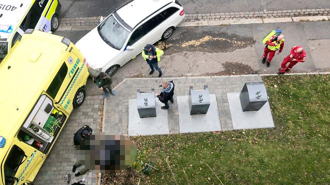 Norvège: un homme armé fauche des passants à bord d'une ambulance volée