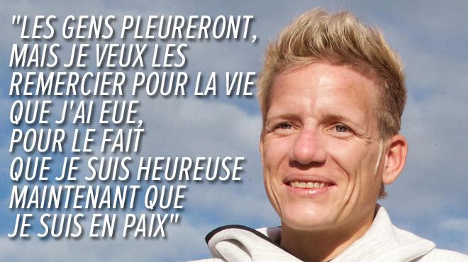 Marieke Vervoort, l'athlète paralympique belge, est décédée par euthanasie