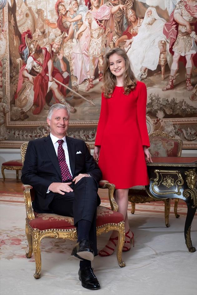 Le Roi Philippe et la Princesse Elisabeth