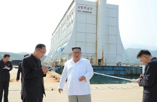 La Corée du Nord veut détruire des bâtiments d'un complexe touristique construit par le Sud