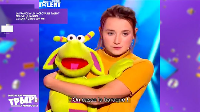 Une Belge dans La France a un incroyable talent: TPMP revient sur Le Cas Pucine