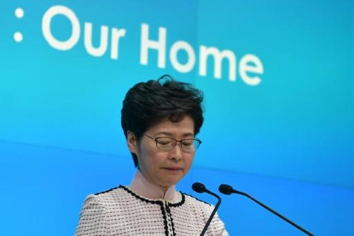 Pékin veut remplacer la cheffe de l'exécutif de Hong Kong, selon le Financial Times