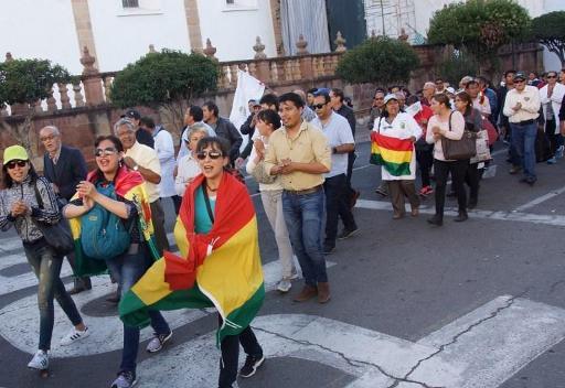 Le président Morales compare la grève générale à un