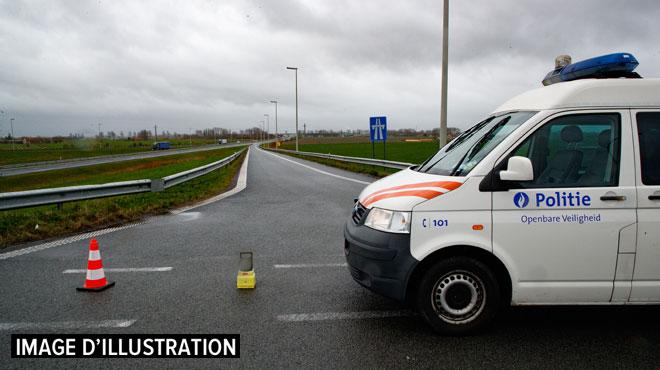 Un jeune Bruxellois décède sur la bande d'arrêt d'urgence de l'E40