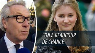Elisabeth sait exactement ce qu'elle veut- le couturier Edouard Vermeulen admiratif de la personnalité de la princesse