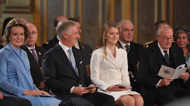 La princesse Elisabeth, rayonnante, pour son 18e anniversaire- revivez les plus beaux moments de la cérémonie
