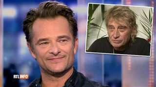 David Hallyday invité de RTL INFO- on ressort une vieille archive de Johnny, comment réagit-il?