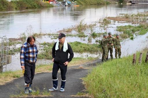 Japon: 10 morts et trois disparus dans des pluies diluviennes