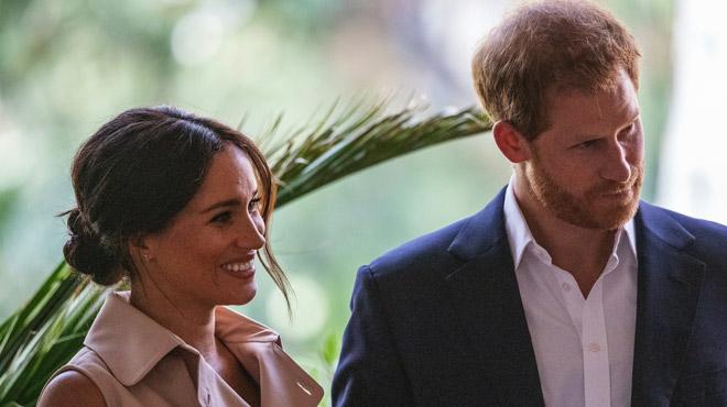Meghan Markle radieuse, elle chambre le prince Harry (vidéo)