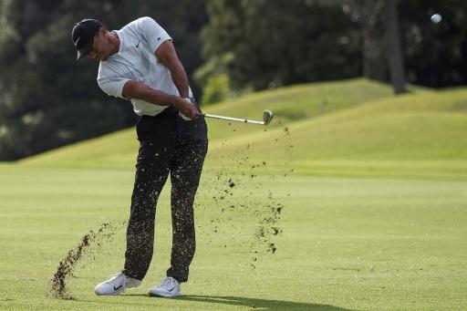 PGA au Japon: Woods crée l'écart en tête après le deuxième tour