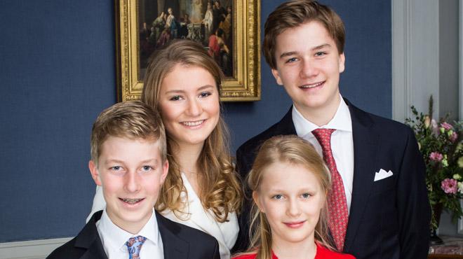 Nouvelles photos de famille à l'occasion des 18 ans d'Elisabeth