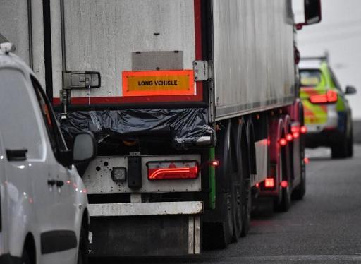 La personne arrêtée en Irlande est le chauffeur qui a tracté la remorque jusqu'à Zeebrugge