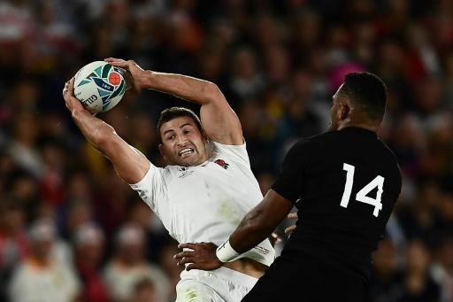 Mondial de rugby: les Anglais May et Farrell a priori aptes pour la finale