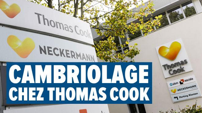 Natacha achète 2 ordinateurs portables de Thomas Cook mis aux enchères: ils ont été volés au siège de l'entreprise