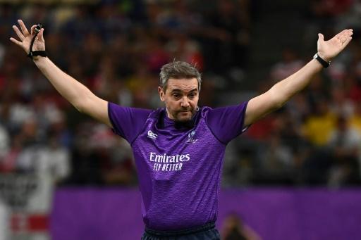 Mondial de rugby: Jérôme Garcès arbitre de la finale, une première pour un Français