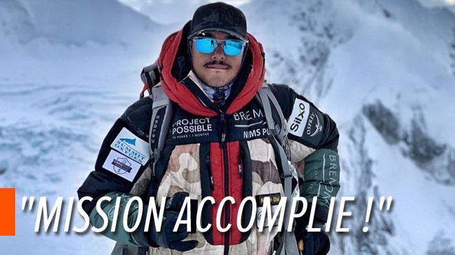 14 montagnes de plus de 8.000 mètres gravies en 7 mois: le Népalais Nirmal Purja revendique un nouveau record
