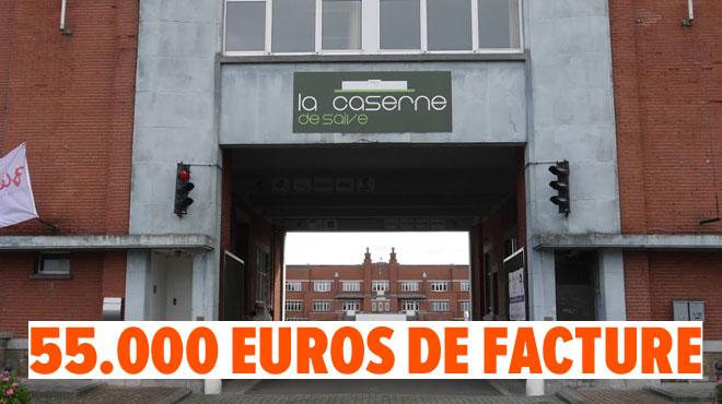 Grosse surprise à la caserne de Saive, près de Liège: la facture d'eau bat des records