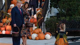 L'effrayant Halloween de Donald et Melania Trump à la Maison-Blanche- les internautes se lâchent