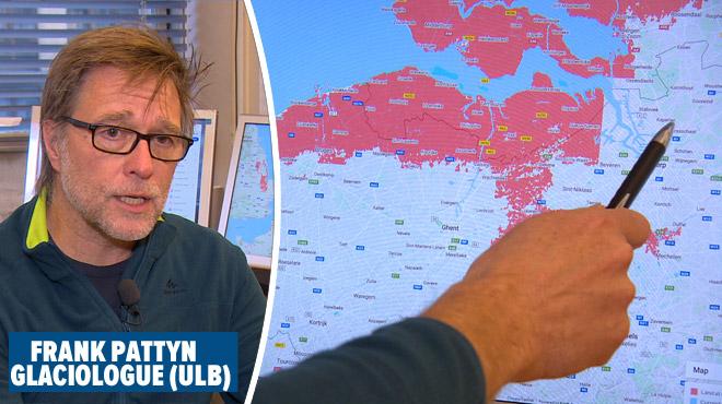 La montée des océans d'ici 2050 pourrait impacter une partie de la Belgique: voici les régions concernées
