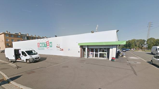 Braquage d'un magasin Smatch à Ougrée : les braqueurs menacent le personnel avec des couteaux