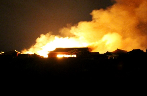 Japon: un château classé au Patrimoine mondial ravagé par les flammes